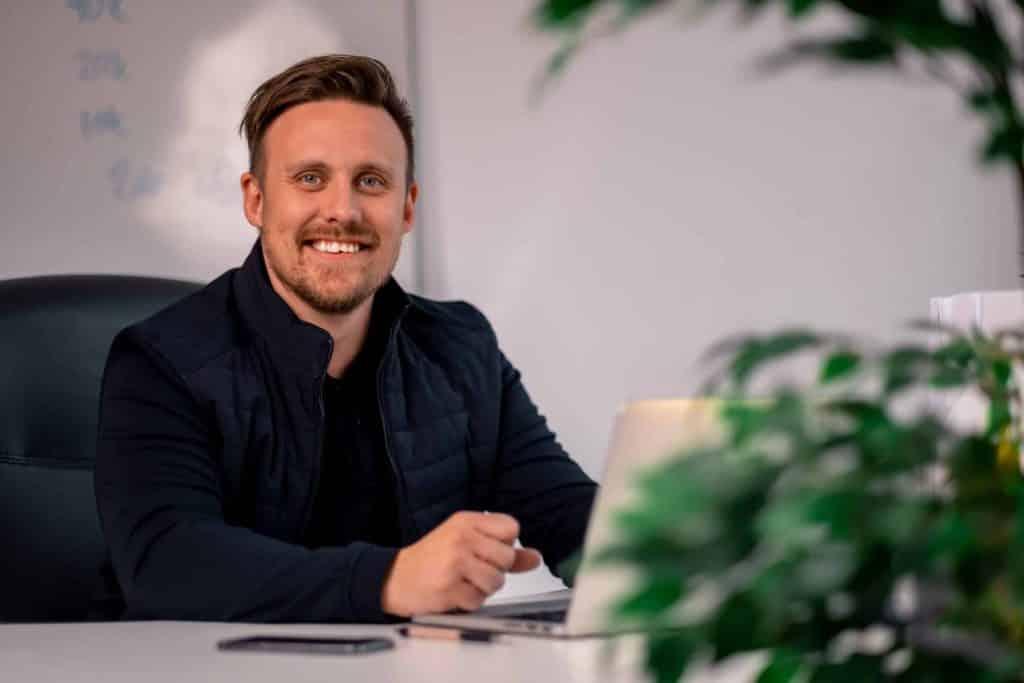 Alexander Karlsson, VD, EZ Web