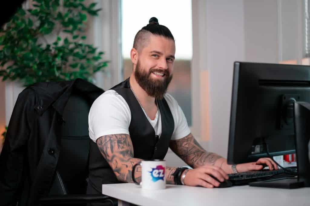 Petter Samuelsson, VD, EZ Web AB